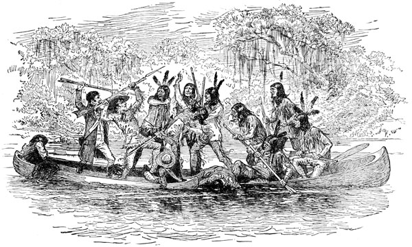 Native American clipart creek Creek Creek Indians Indians: Fight