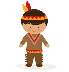Native American clipart cute More pazzles file Native Boy