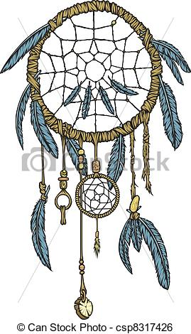 Native American clipart dream catcher Vector detailed Clip highly Catcher