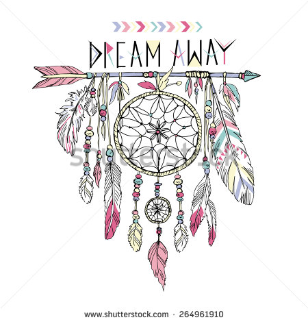 Native American clipart dream catcher Catcher illustration of  drawn
