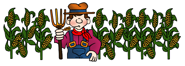 Native American clipart farming Art Farmer Farming Corn and