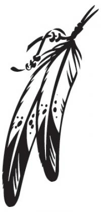 Native American clipart feather Art Native Feather Feathers Tribal
