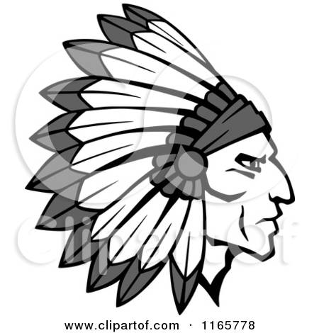 Native American clipart feather hat American clipart Hat Clip Indian