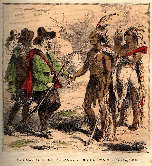 Native American clipart fighting Americans and Pilgrims American Lesson