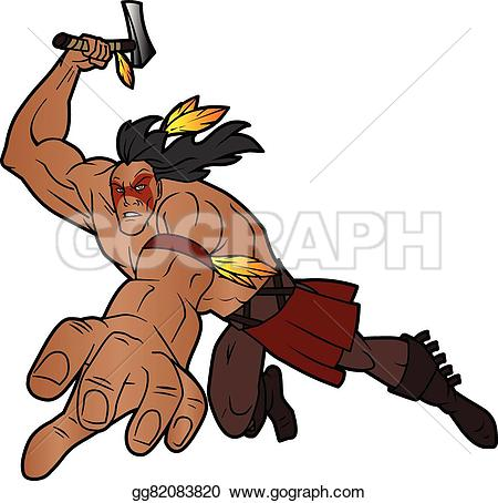 Native American clipart fighting Is indian american tomahawk a