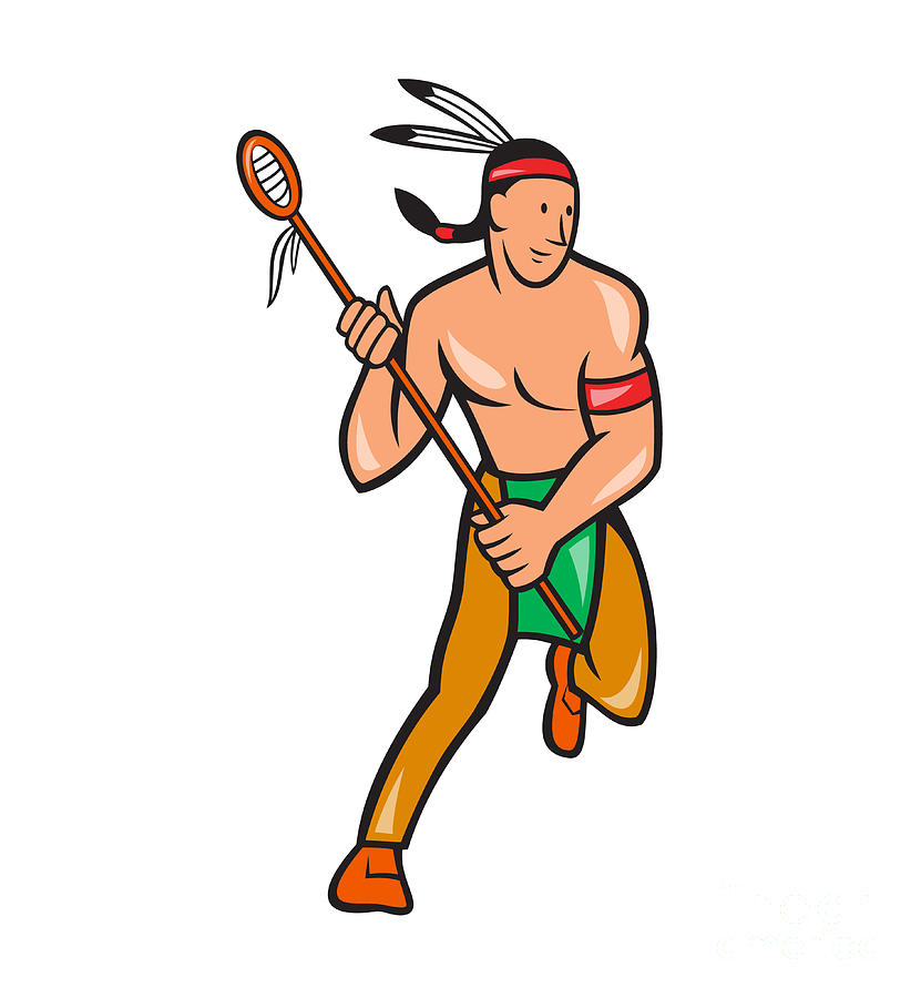 Native American clipart fighting Art Clip American Native Download