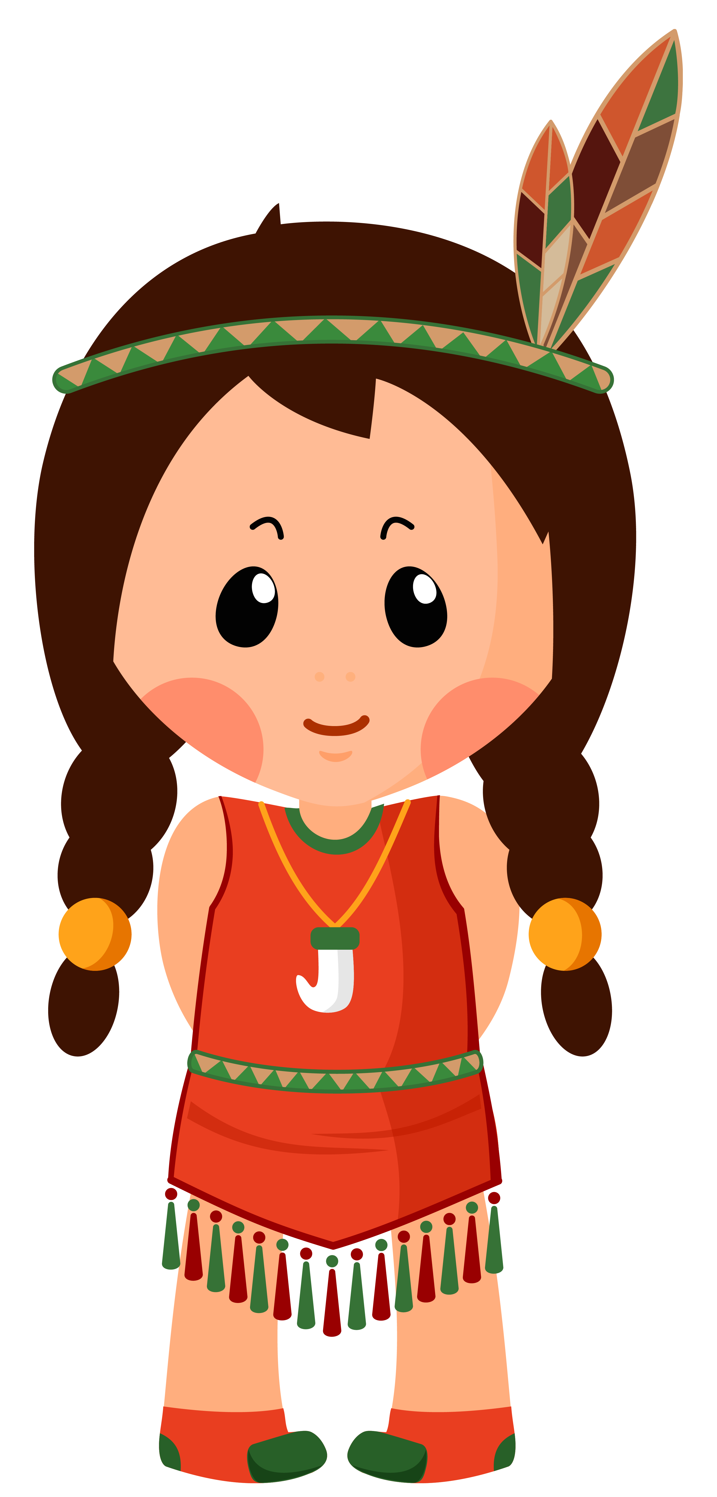Native American clipart happy Size Clipar PNG Image View