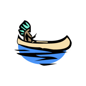 Native American clipart indian canoe Clipart american Kid graphics American