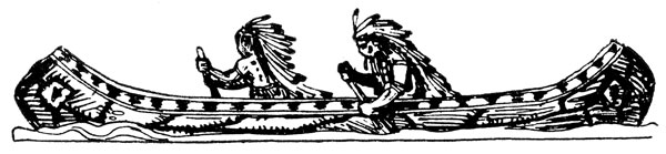Native American clipart indian canoe Clipart: a in Canoe American