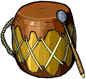 Native American clipart instrument Instrument drum MUSIC 24 many