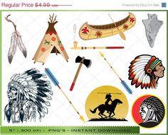 Native American clipart knife 50 Clip Native art Black