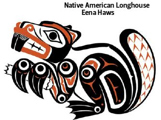 Native American clipart indian tailor A Clarence Longhouse Eena Native