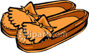 Native American clipart moccasin Moccasins Free Picture Royalty Free