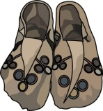 Native American clipart moccasin 34 for Search Results Graphics