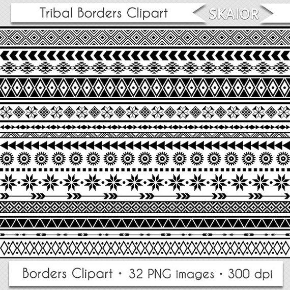 Native American clipart native african Art Borders Clip Ethnic Borders
