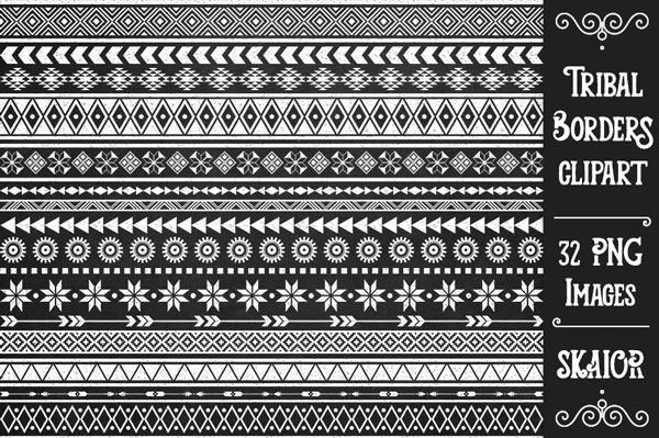 Native American clipart native african Tribal Clipart Scrapbooking Tribal Geometric