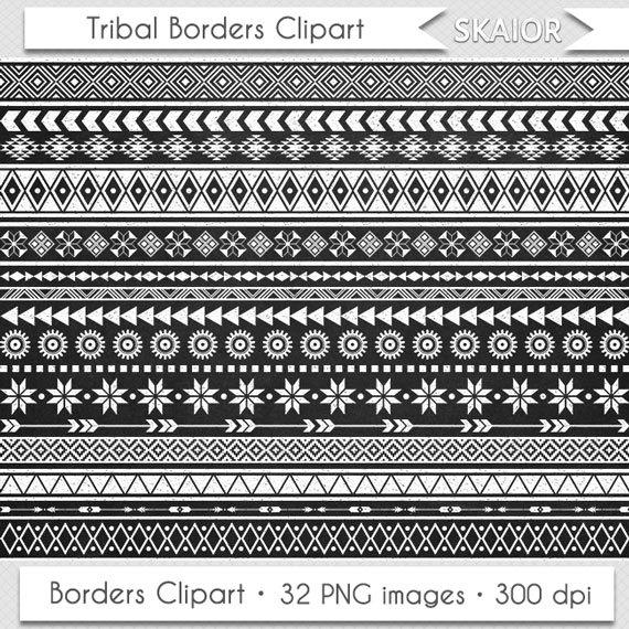 Native American clipart native african Borders Chalkboard Clip Art Tribal