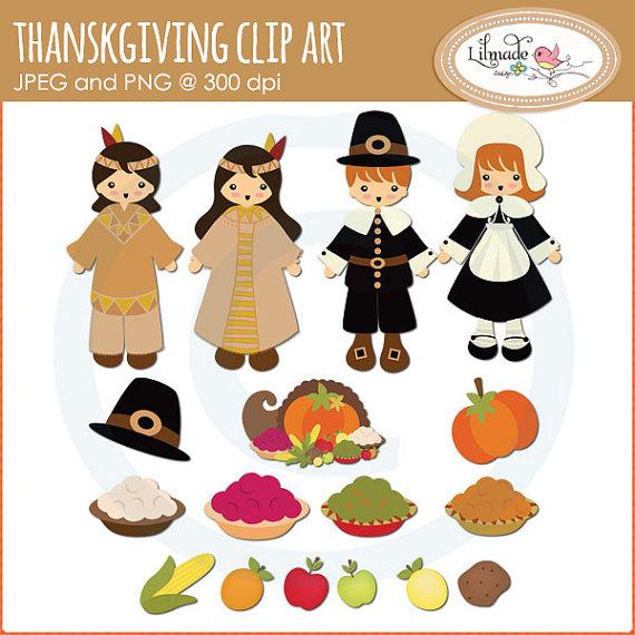 Native American clipart pilgrims On Native Thanksgiving art art