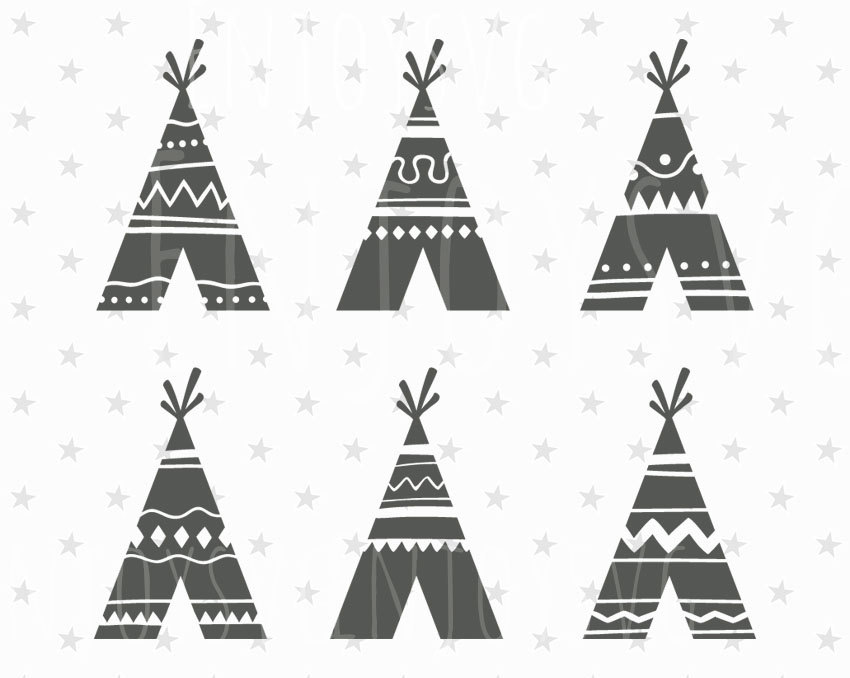 Native American clipart teepee tent Svg Teepee american Wild File