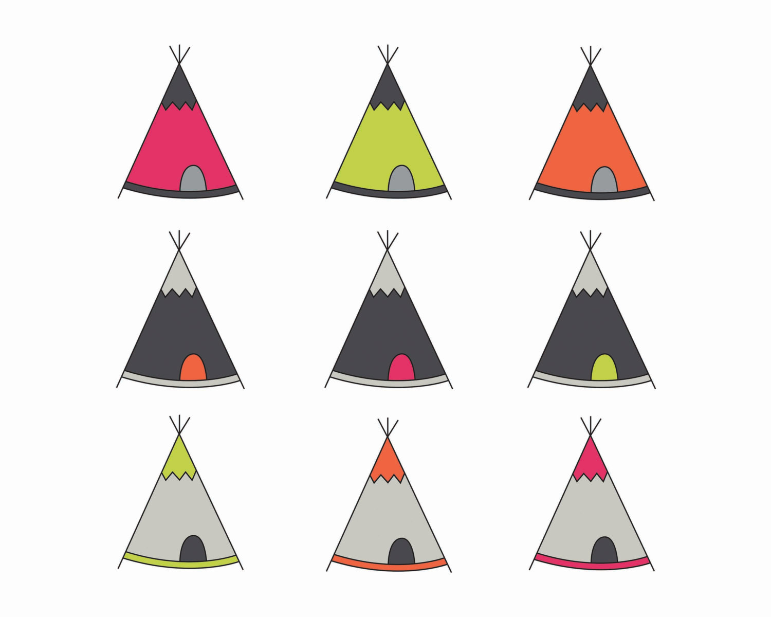 Triangle clipart tent Tent Clip and Tuesday: Navaho