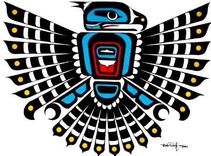 Native American clipart totem pole Tattoo northwest art on Totem