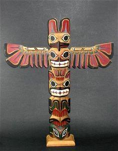 Native American clipart totem pole Pole pole Yahoo Yahoo Image