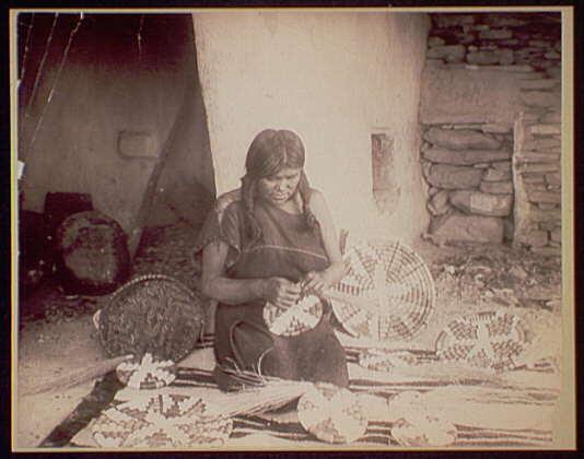 Native American clipart weaving Basket Weavers Navajo Hopi Art