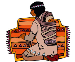 Native American clipart weaving American for native Native ***