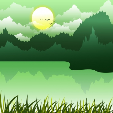 Nature clipart backround #1