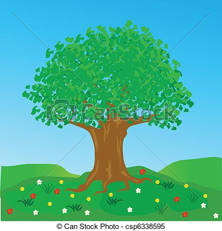 Tree clipart big tree #4