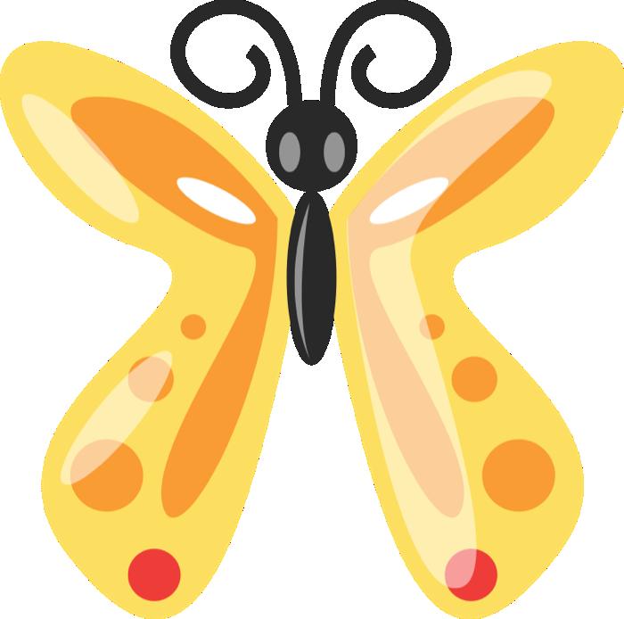 Bug clipart butterfly Butterfly of Graphics Butterflies Golden