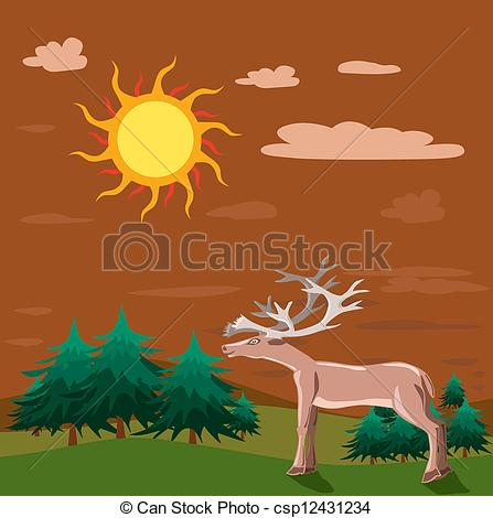 Nature clipart evening time Evening Clipart evening%20clipart Panda Clipart