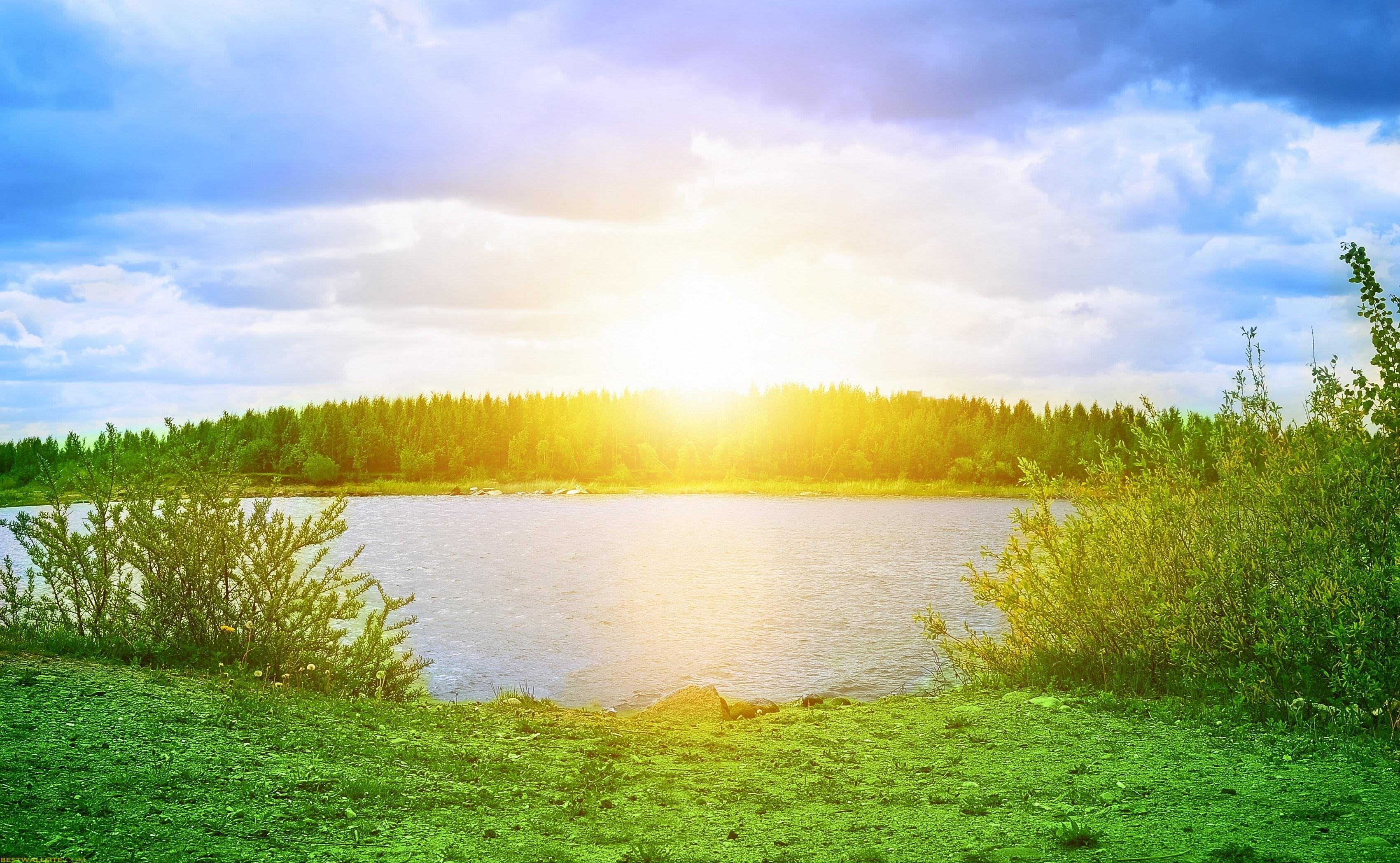 Nature clipart morning sunrise Com Sunrise Morning In Nature