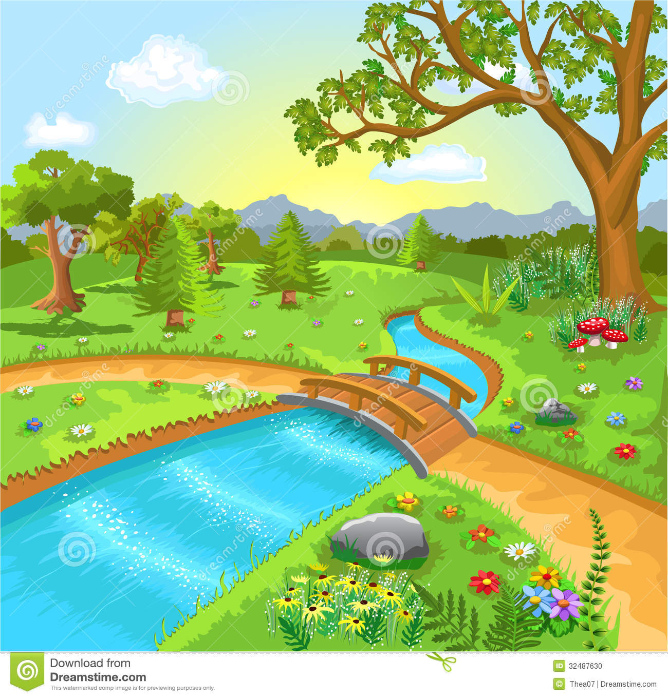Sream clipart spring water Natural clipart Clipground Natural clipart