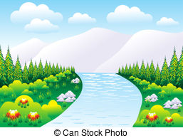Scenery clipart nature park #1