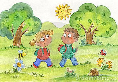 Nature clipart nature walk #4