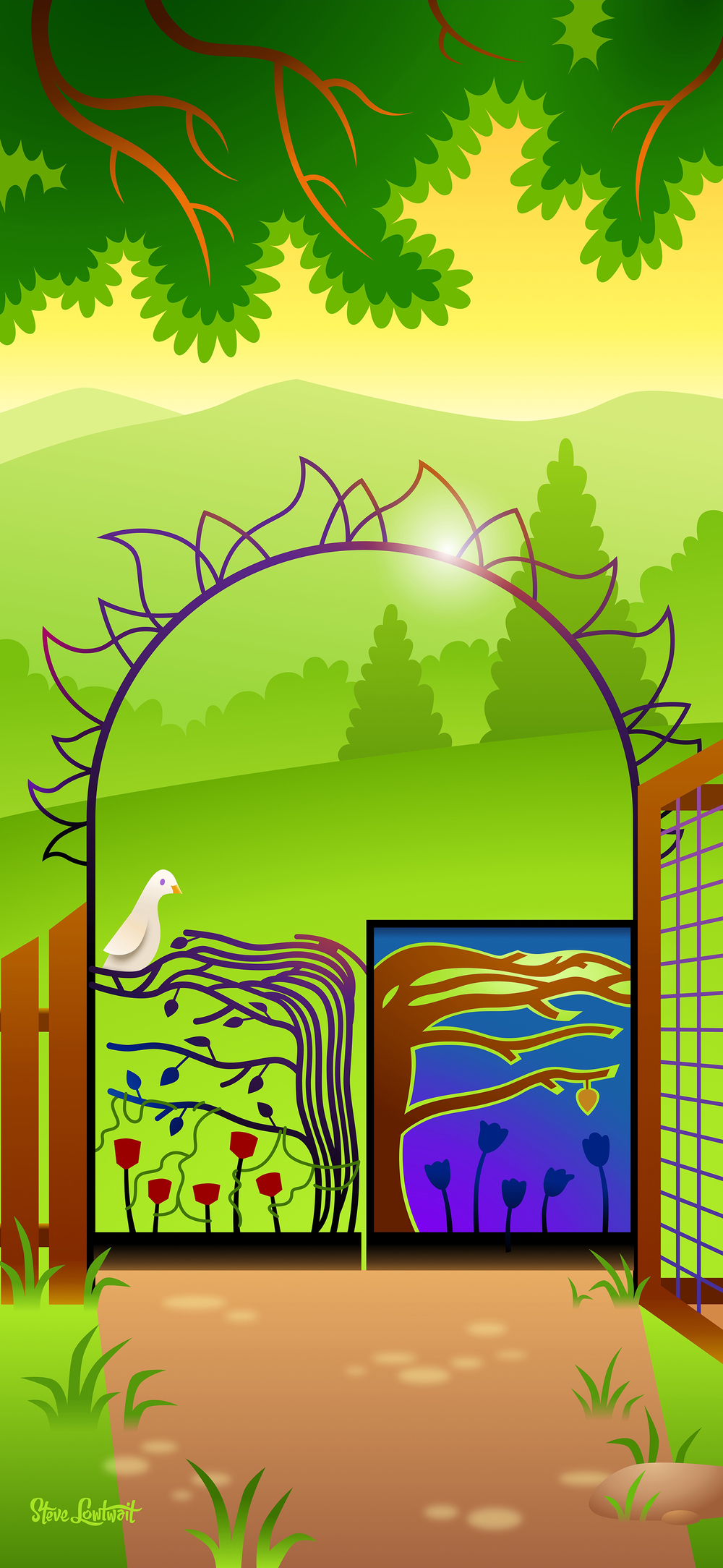Nature clipart school ground Artwork purchased School support Banners