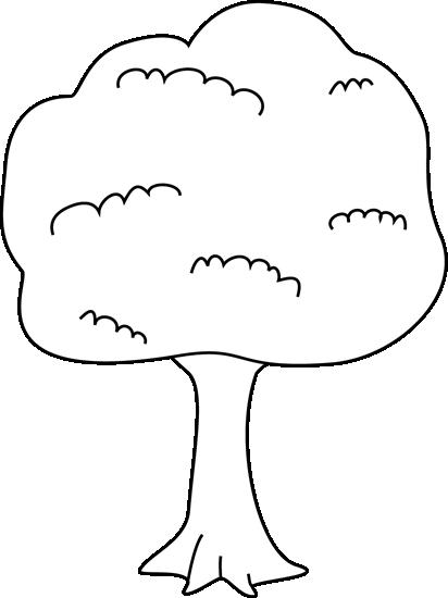 Tree Clip Black Tree and