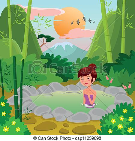 Hot Springs clipart spring water #15