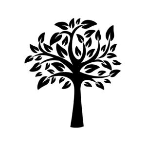 Nature clipart stencil Nature Life Of Stencil Tree