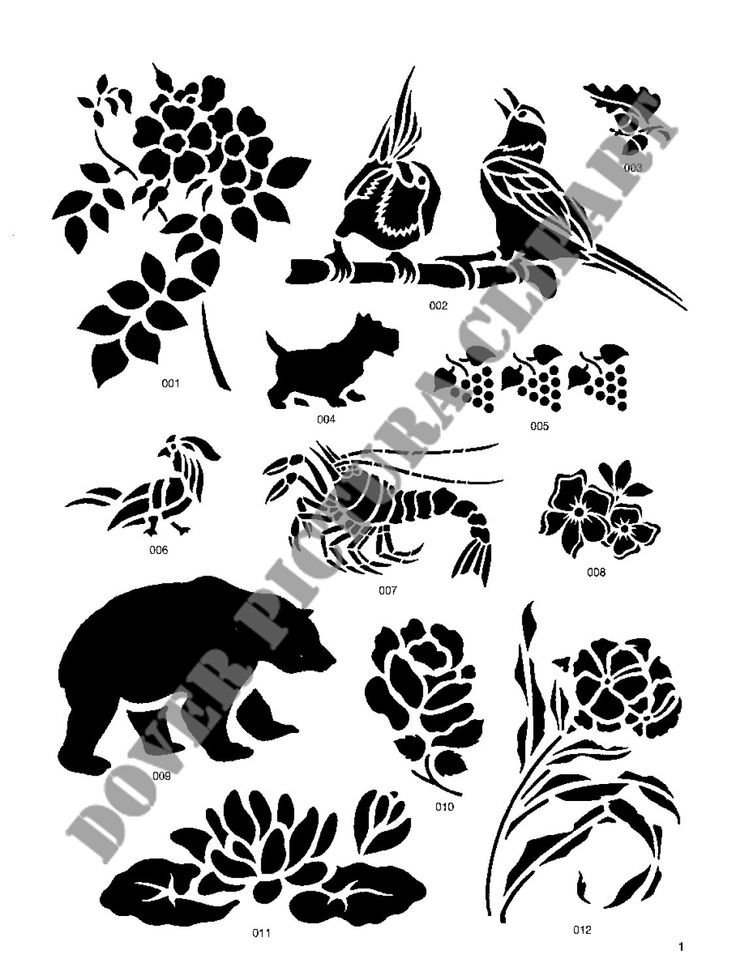Nature clipart stencil Stencil (1126×1500) about on jpg