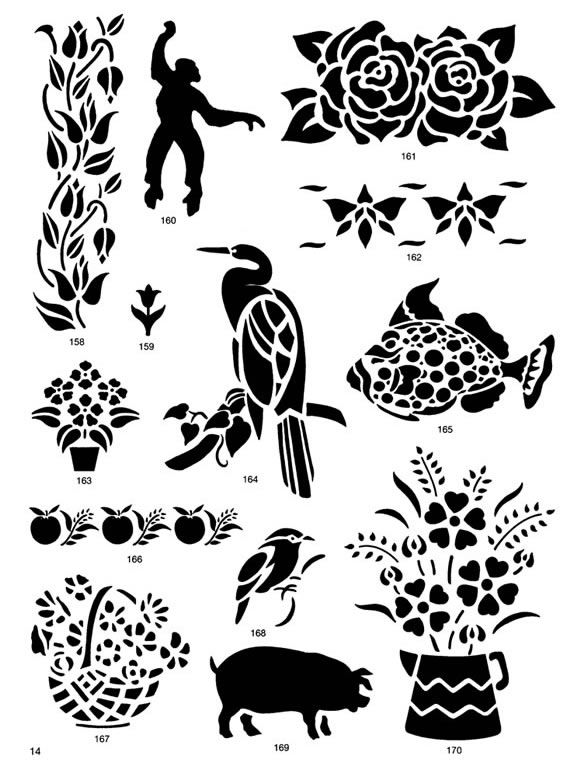 Nature clipart stencil More Pin From: images Pinterest