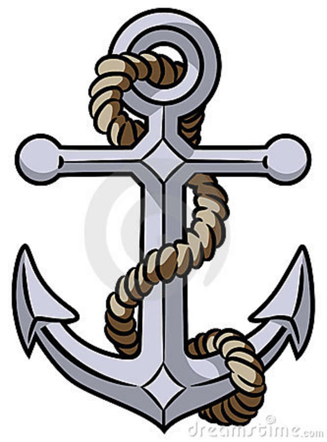 Navy clipart anchor rope #5