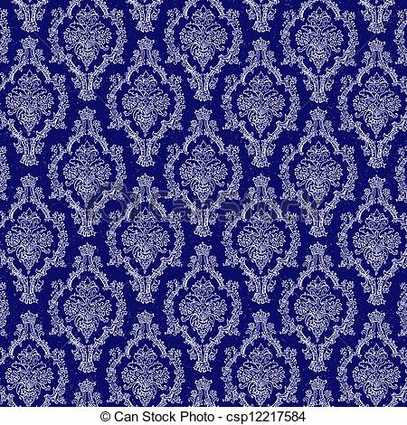 Navy clipart damask #8
