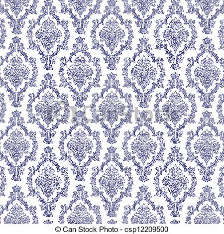 Navy clipart damask #5