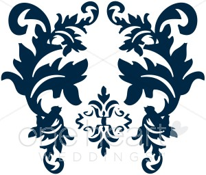 Navy clipart damask #4