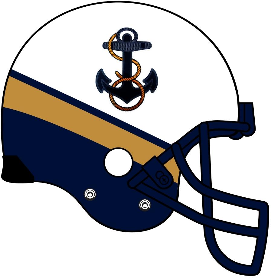 Navy clipart football helmet #8