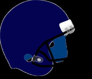 Football clipart light blue Art clip Helmet com Football