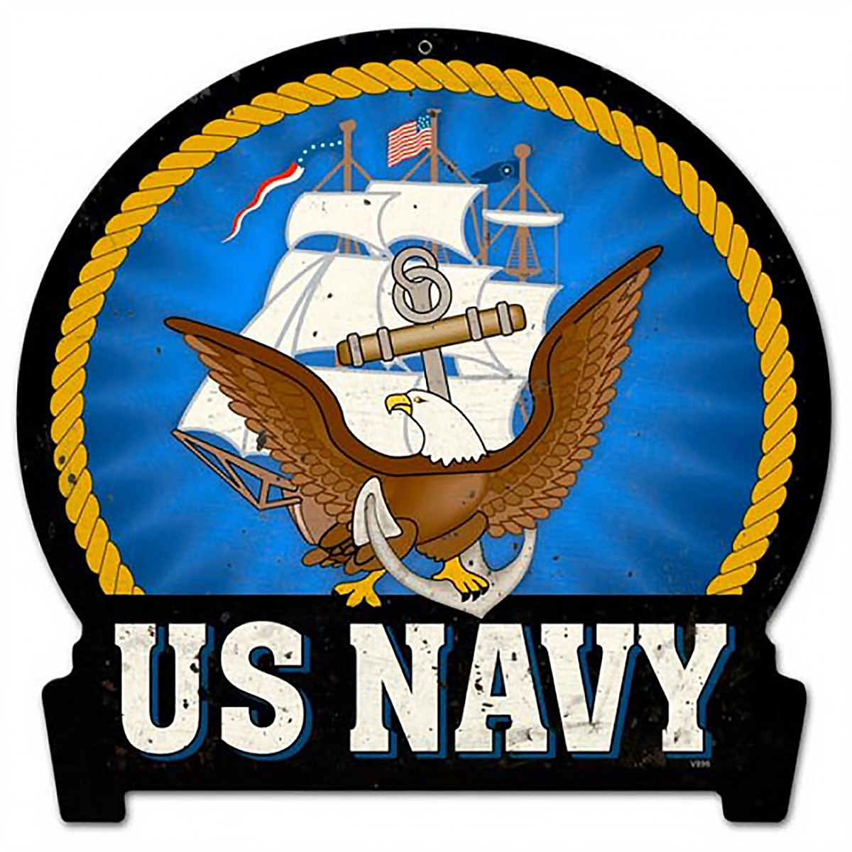 Navy clipart military emblem  Signs Military Emblem Sign