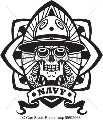 Navy clipart military emblem Of Art Vector Clip Military